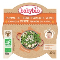 Potato Menu Green Beans Turkey Organic (from 12 months)