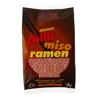 Pasta Ramen de Arroz Integral con Miso y Chile sin Gluten BIO