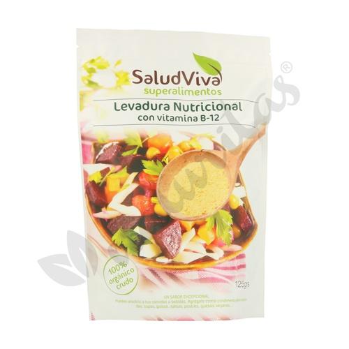 Levadura Nutricional con Vitamina B12 125 gr de Salud Viva
