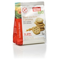 Mini Crackers con Cúrcuma sin Gluten Bio
