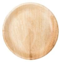 Round Plate Palm Leaf 23 cm Ø
