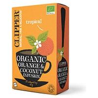 Infusión de Naranja y Coco Bio