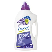 Liquid lavender detergent