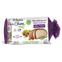 Pan rústico sin gluten