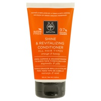 Shine and Vitality Conditioner for All Hair Types With Orange and Honey