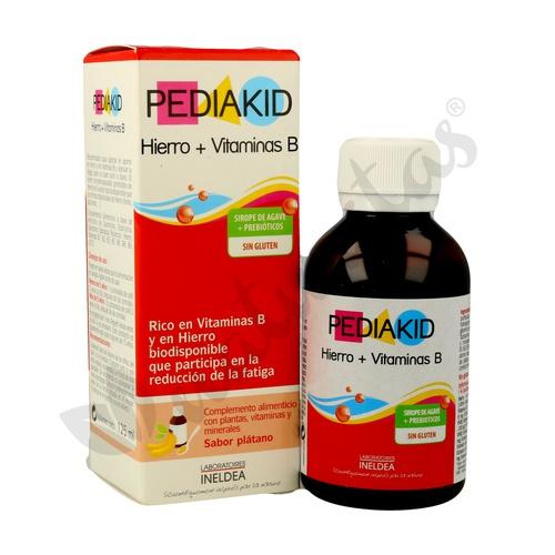 Pediakid Hierro y Vitamina B (Sabor a Plátano)
