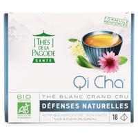 Qi Cha Té blanco Grand Cru Defensas naturales