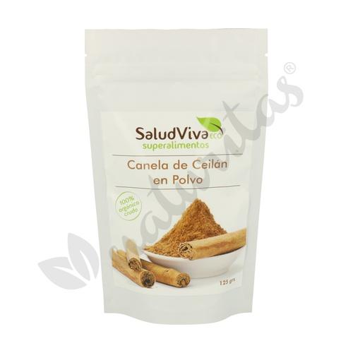 Canela Ceilán en Polvo 125 gr de Salud Viva