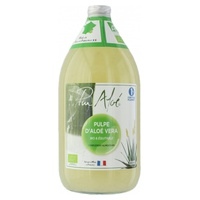 Organic pasteurized Aloe Vera pulp to drink