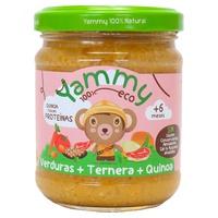 Tarrito Verduras de Ternera Quinoa