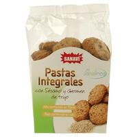 Pastas integrales con sésamo y germen de trigo