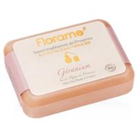 Jabón tradicional de provenza de geranio