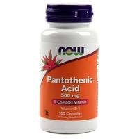 Ácido Pantoténico 500 mg