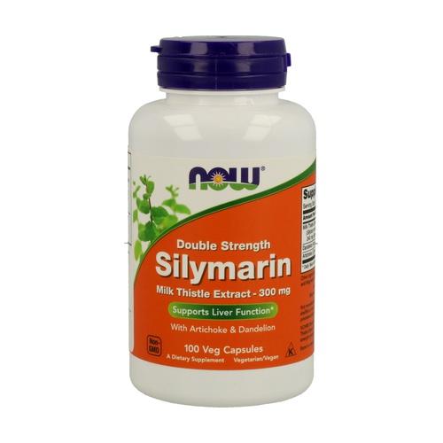Silymarin 2x300mg Cardo Mariano Estandarizado 80% Silimarina + Ext. de Diente de León y Alcachofa