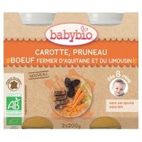 Small Pots Menu Carrot Prune Organic Farm Beef (from 8 months)