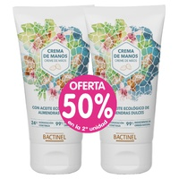 Promo Pack Bactinel Crema de manos de Almendras