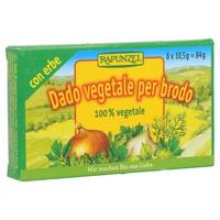 Caldo de verduras con hierbas
