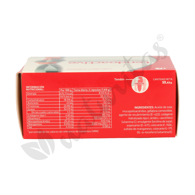 949d585a7c Tendoactive 60 cápsulas de Bioiberica