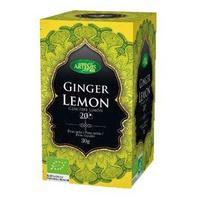 Té jengibre y limón (sin teína)