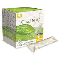Tampons with compact applicator of plant origin - Regular
