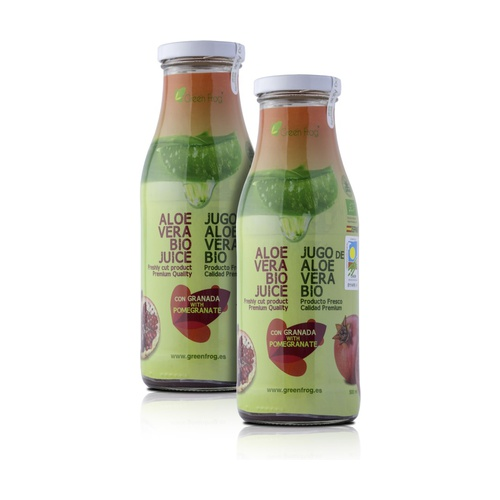 Pack x2 Zumo de Aloe Vera Bio con Granada