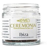 Ibiza mixture of resins and incenses warm and vanilla aroma