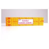 Sticks de Incienso Hexagonal Champa 16 gr de Goloka