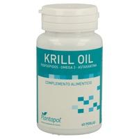 Huile de krill antarctique