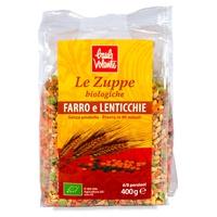 Zuppa farro e lenticchie