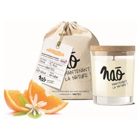 Natural scented candle orange blossom large model 40h