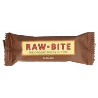 Superbarritas Veganas Raw-Bite (sabor Cacao) 12 barritas de 50grs de Vitafood Raw