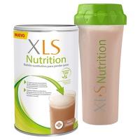 Shaker + chocolate nutritivo Xls