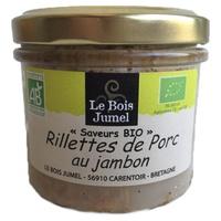 Rillettes de Porc au Jambon bio