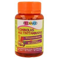 Gominolas Multivitaminadas 14 Vit + 22 Frutas y Verduras