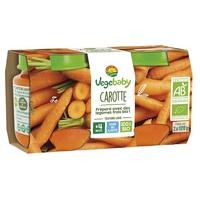 Baby Vegébaby Carrot 4 miesiące słoiki