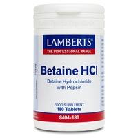 Betaina HCL con Pepsina
