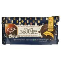 Galletas de Arroz y Chocolate sin Gluten