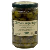 5 Flavors Olives