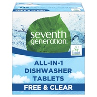 Free and Clear Dishwasher tablets