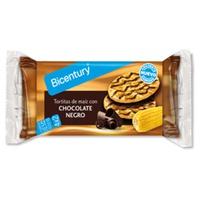 Tortitas de Maíz con Chocolate Negro 4x2