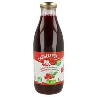 Pure organic cranberry juice