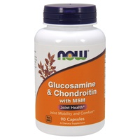 Glucosamine et chondroïtine avec MSM