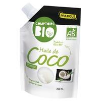 Organiczny olej kokosowy z pierwszego tłoczenia
