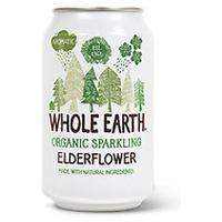 Organic Sugar Free Elderberry Soda