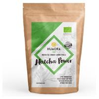 Té Verde Matcha, Jengibre en Polvo, Limón Deshidratado y Azúcar de Panela BIO