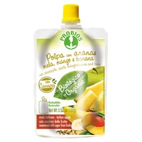 Polpa con ananas mela mango banana canapa - confezione doypack