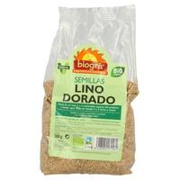 Semillas de Lino Dorado Bio 500 gr de Biogra