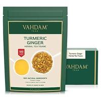 Turmeric and ginger herbal tea