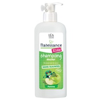 Champú orgánico para el cabello y el cuerpo de manzana