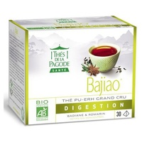 Bajiao Organic Pu-Erh Tea With Star anise And Rosemary - Light Digestion